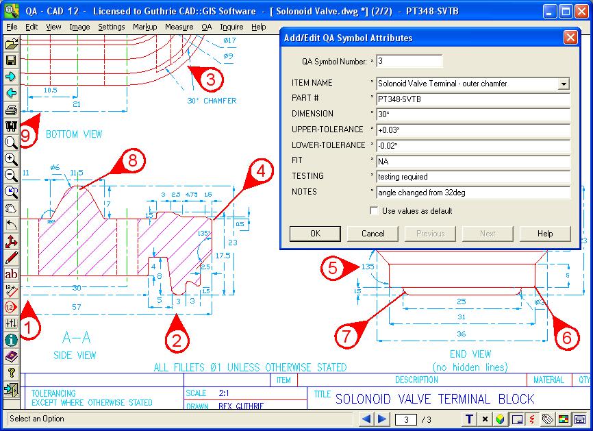 CAD Viewer Quality Assurance Software